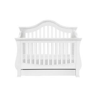 Ashbury 4-in-1 Convertible Crib by Million Dollar Baby Classic