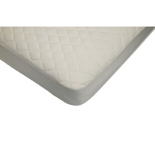 Quilted Crib and Toddler Fitted Mattress Pad by American BaCompany