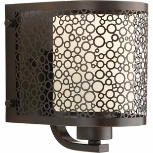 Latitude Run Komal 1-Light Bath Sconce