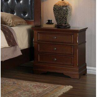 Barcroft 2 Drawer Nightstand