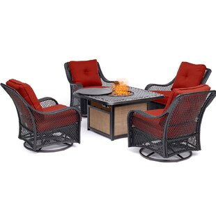 Innsbrook 5 Piece Multiple Chairs Seating Group by Alcott Hill Read Reviews