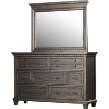 Suzann 7 Drawer Dresser with Mirror by Laurel Foundry Modern Farmhouse