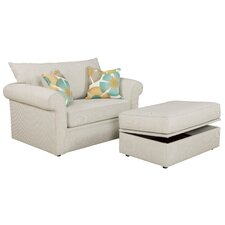 Edgar Storage Glider Ottoman by Overnight Sofa