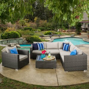 Strawn 7 Piece Sectional Seating Group