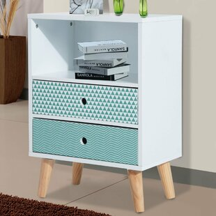 Boudreaux 2 Drawer Bedside Table By Norden Home