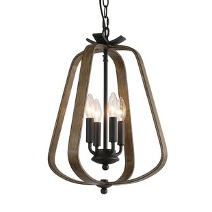 Coronado 4-Light Lantern Chandelier by Wi..