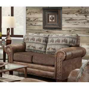 Deer Lodge Loveseat by American Furniture Classics