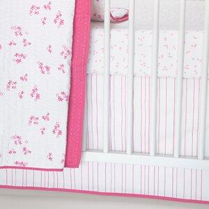 Painted Stripe Crib Skirt