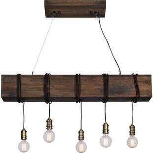 Memphis 5-Light Kitchen Island Pendant by Gracie Oaks