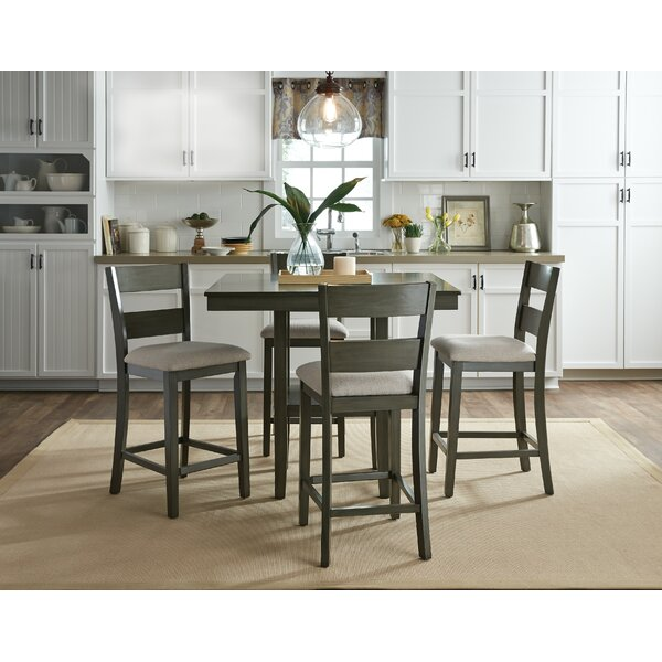 Birch Lane™ Brantford 5-Piece Counter-Height Dining Set & Reviews ...