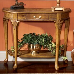 Downey Oak Console Table