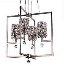 Rosdorf Park Mcdowell Glam 4-Light Square/Rectangle Chandelier
