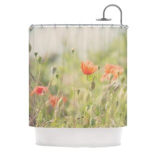 Fields of Remembrance by Laura Evans Single Shower Curtain