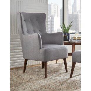 Piersten Wingback Chair by Winston Porter