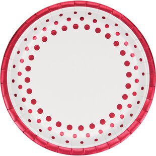 Sparkle and Shine Gold Foil Paper Dinner Plate (Set of 24)