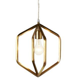 George Oliver Ebbert 1-Light Pendant