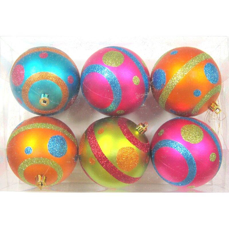 Mardi Gras Ball Ornament
