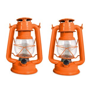 Haldor Tropical LED Lantern (Set Of 2) By Bayou Breeze
