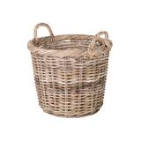Mowery Round Rattan Basket by August Grove