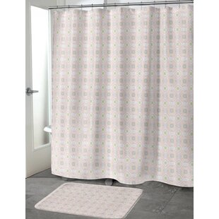 Pitchford Single Shower Curtain + Hooks
