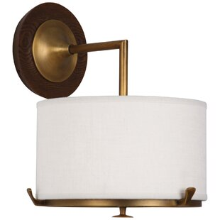 Inexpensive Edwin 1-Light Wall Sconce By Robert Abbey