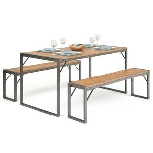 Keyes 3 Piece Dining Set Williston Forge
