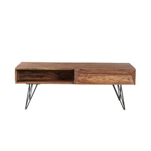 Compare prices Folkston Coffee Table with Storage by Foundry Select