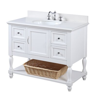 42 Inch Right Side Sink Vanity Wayfair