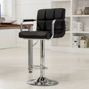Hanson Adjustable Height Swivel Bar Stool