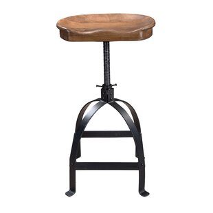 Read Reviews Lynde Adjustable Height Swivel Bar Stool by Trent Austin Design Reviews (2019) & Buyer's Guide