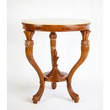 Solid Wood 3 Legs Coffee Table by The Silver Teak