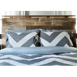 Longshore Tides Catt 100% Cotton Reversible Duvet Set