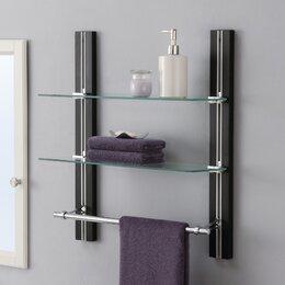 Ordinaire Bathroom Wall Shelves