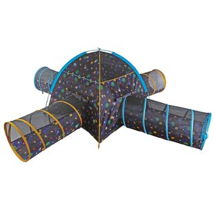 Great Price Galaxy Glow in The Dark Stars Combo Junction Play Tunnel with Carrying Bag ByPacific Play Tents