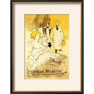 modern contemporary modern framed art allmodern