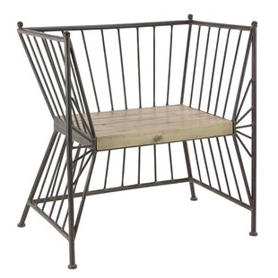 17 Stories Dhawal Modern Patio Chair with..