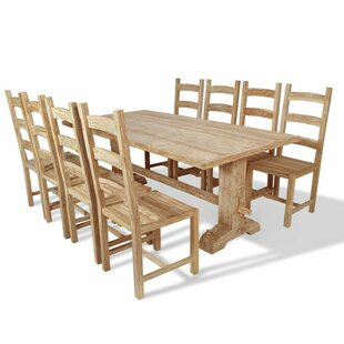 Kory Dining Set With 8 Chairs By Union Rustic