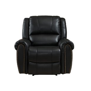 Inessa Leather Recliner by Red Barrel Studio