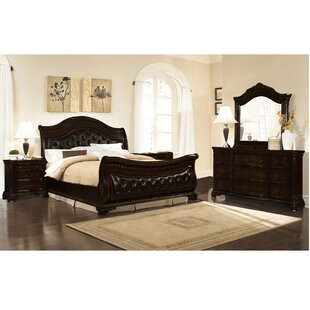Damaris Sleigh 5 Piece Bedroom Set