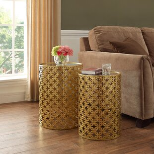 Kessel 2 Piece Nesting Tables House of Hampton