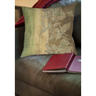 Analisa Floral Printed Throw Pillow by Red Barrel Studio Bargain