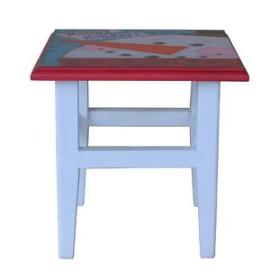 Attraction Design Home Holiday Square Printing Stool