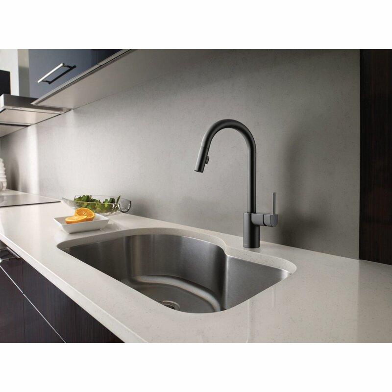 7565srs Moen Align Pull Down Single Handle Kitchen Faucet Reviews Wayfair