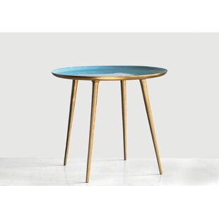 Imler Enameled Tray Table by Bungalow Rose