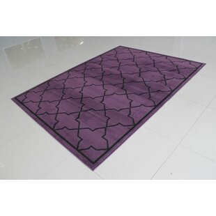 Great choice Purple/Black Area Rug By Rug Tycoon