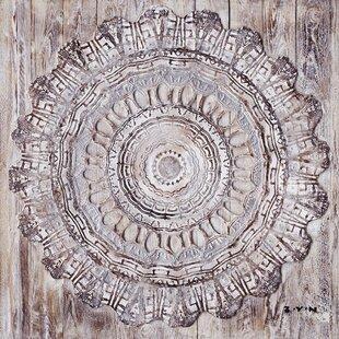Wooden Mandala Wall Art Wayfair Co Uk