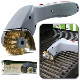 Barbeque Grill Motorized Cleaning Brush by Chef Buddy