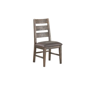 Burkhalter Pines Upholstered Dining Chair (Set of 2) Union Rustic