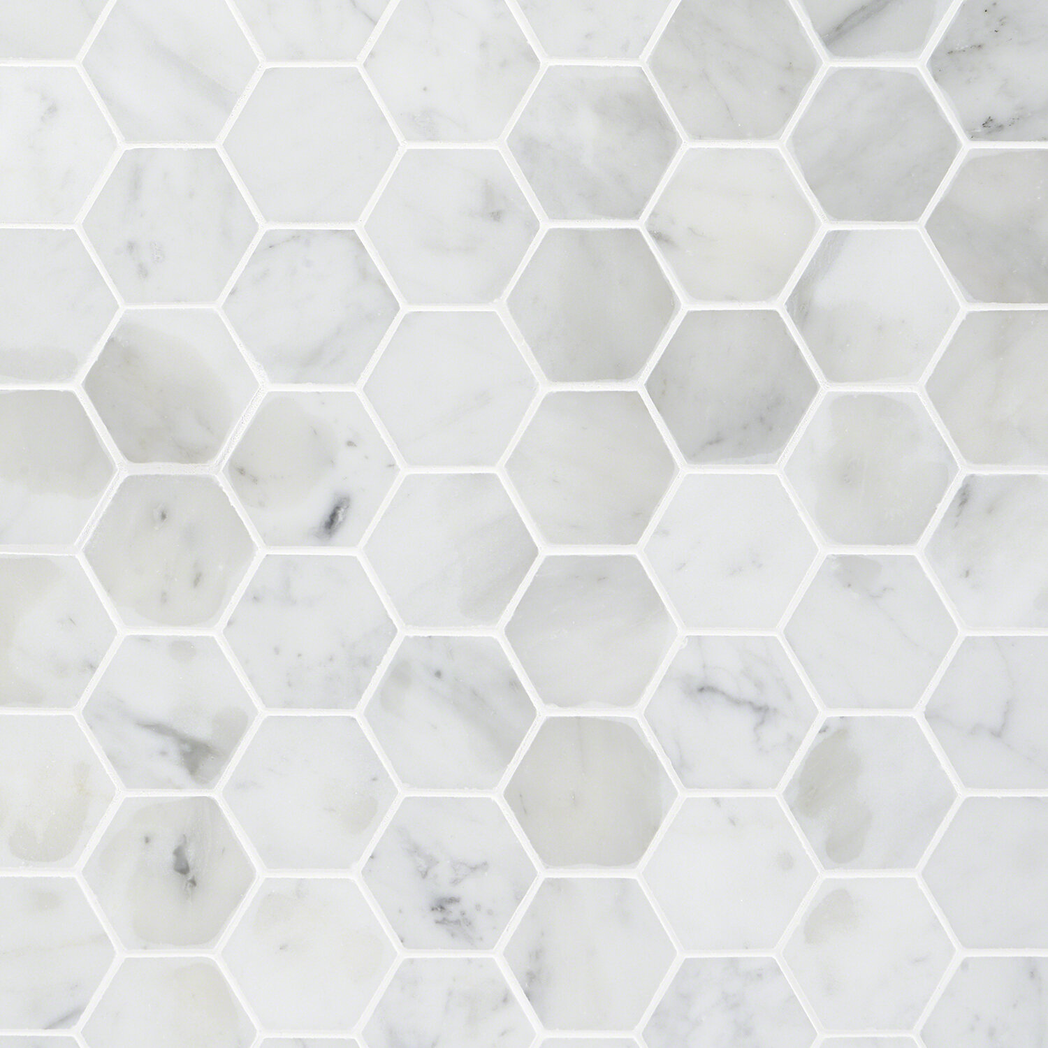 Ivy Hill Tile Hexagon 2 X 2 Marble Mosaic Tile Wayfair Ca