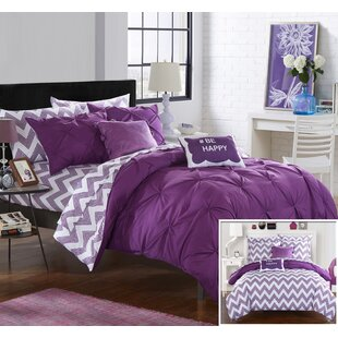 Louisville Reversible Comforter Set by Chic Home